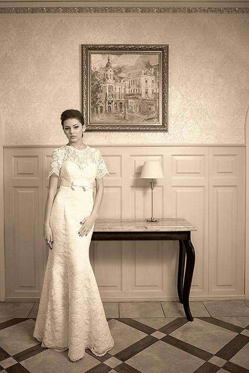 """свадебное платье стиль """"Русалка"""""""