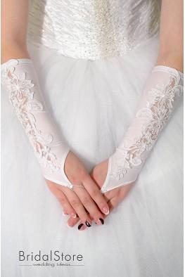 P15 перчатки для невесты