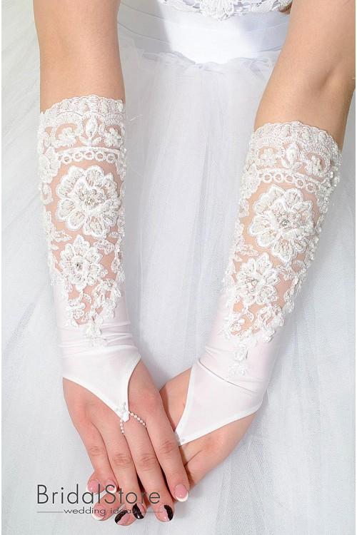 P16 свадебные перчатки