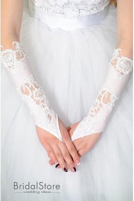 P17 свадебные перчатки