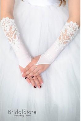 P18 свадебные перчатки