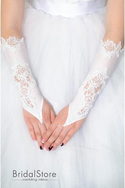 P19 свадебные перчатки