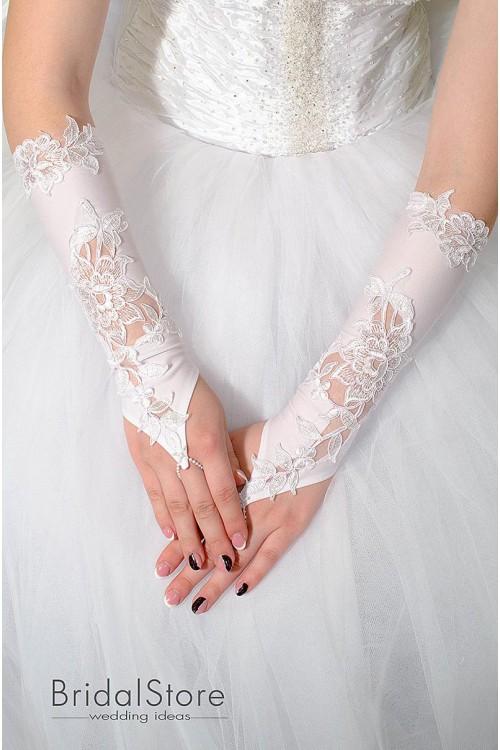 P28 перчатки для невесты