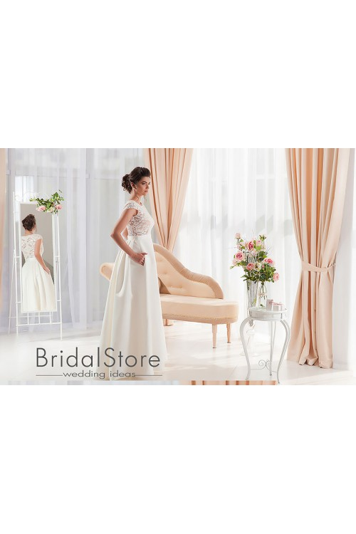 Abigail - свадебное платье с карманами