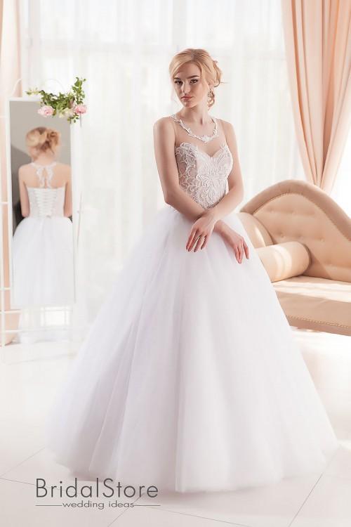 Anna - свадебное платье А-силуэта