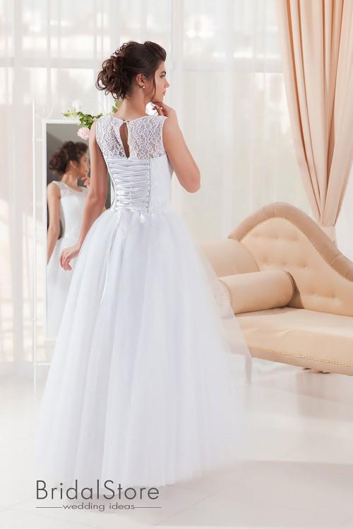 Diana – свадебное платье с закрытыми плечами