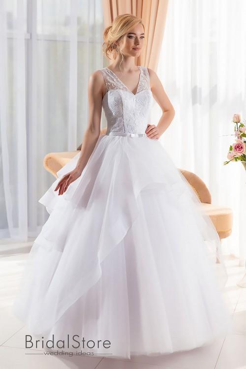 Mia - свадебное платье с пышной юбкой