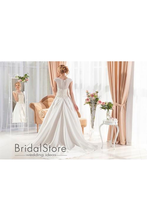 Mila - свадебное платье с шлейфом