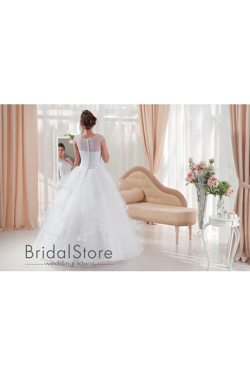 Nina - свадебное платье с пышной юбкой