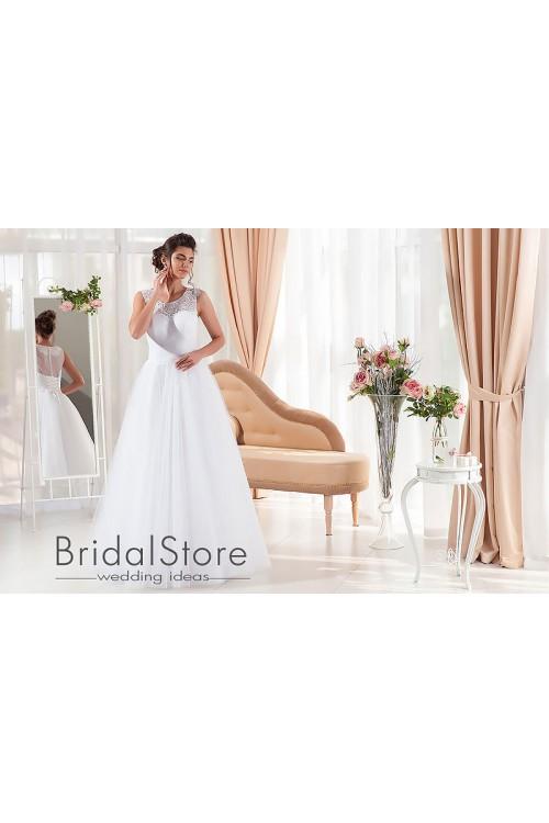 Sara - свадебное платье А-силуэта