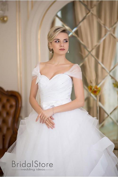 Kaylee - шикарное свадебное платье с бретелями