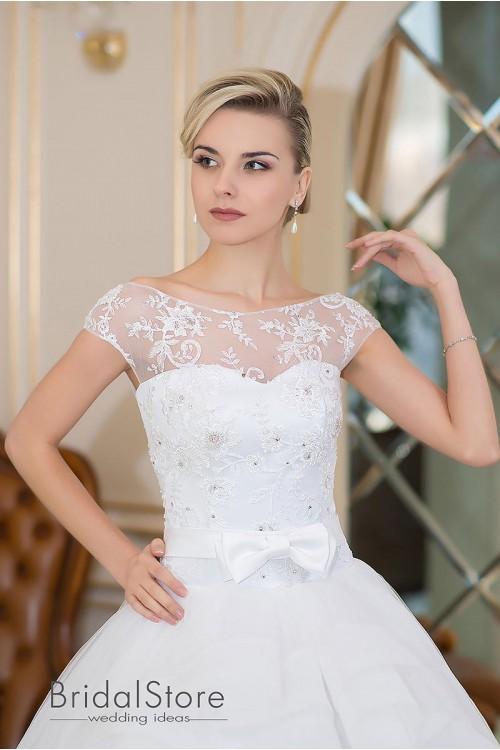 Abby - шикарное свадебное платье с пышной юбкой