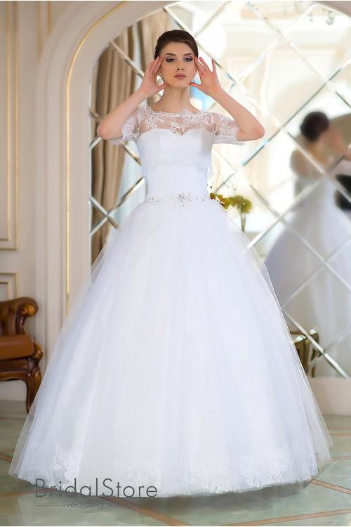Vanessa - свадебное платье сердечко