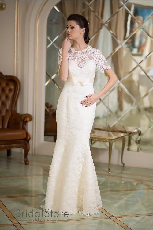Celine - кружевное свадебное платье русалка