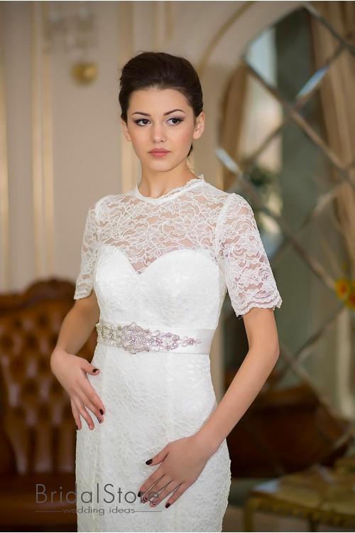 Elyse - кружевное свадебное платье годе