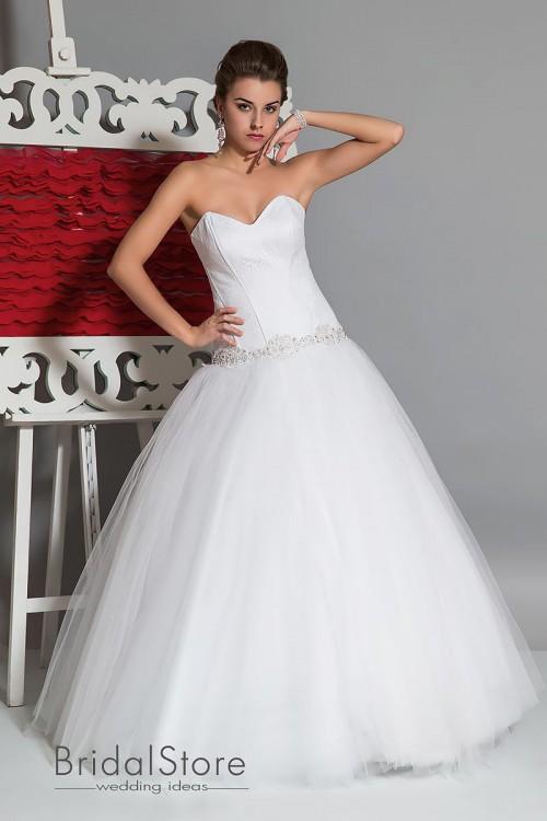 Jenny - весільна сукня з подовженим корсетом
