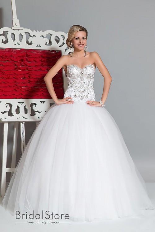 Yana - свадебное платье со стразами