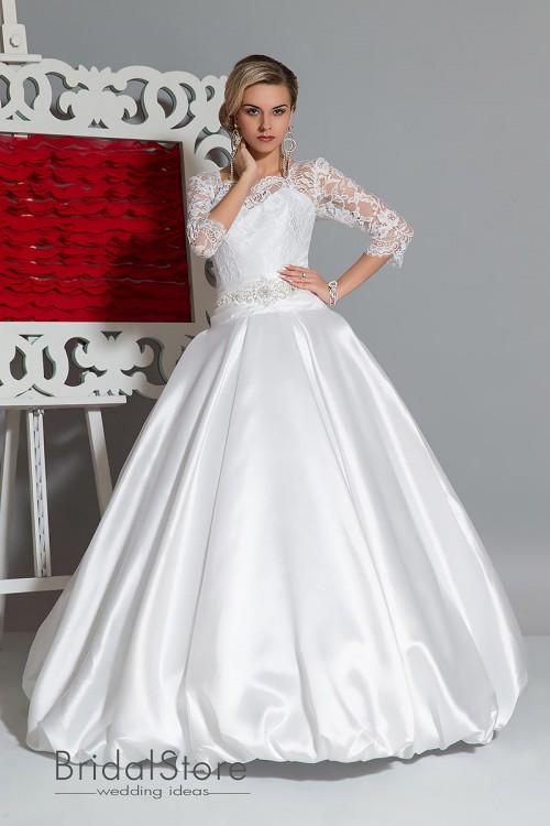 Dora - свадебное платье с рукавами
