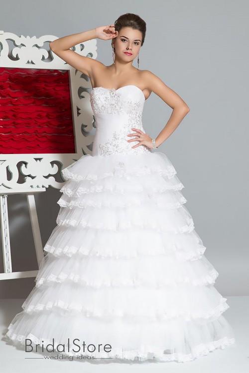Nadyn - свадебное платье принцесса