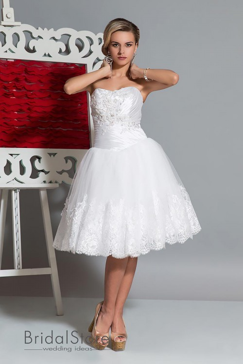 Marry - короткое свадебное платье