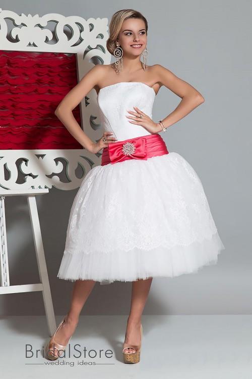 Nika - короткое свадебное платье